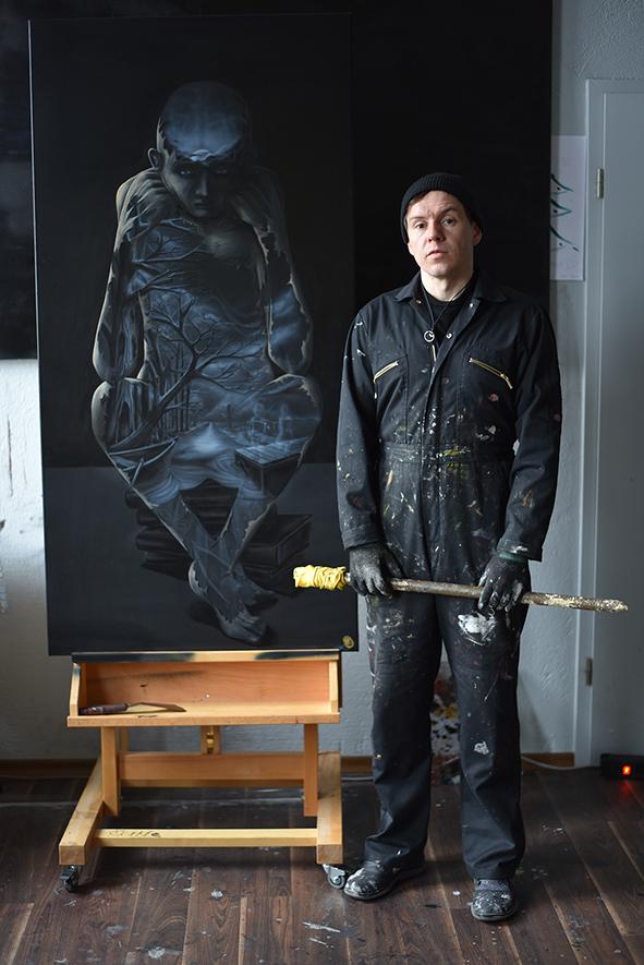 Steve Bauer Leipzig Künstler Kunst Kunstgalerie Galerie Connewitz
